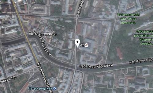 офис Пластик Он Лайн в Санкт-Петербурге - карта
